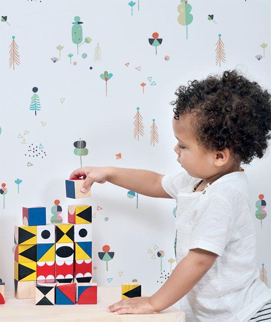 papel-pintado-niños