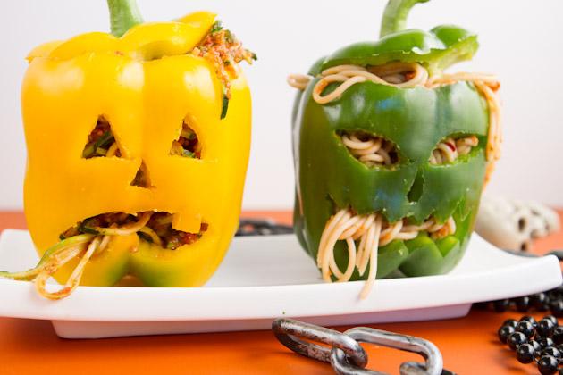 pimientos-recetas-halloween-espaguettis