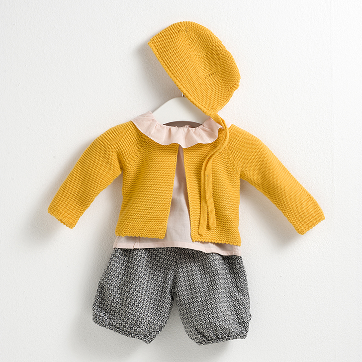 sainte-claire-moda-infantil-capota-amarilla