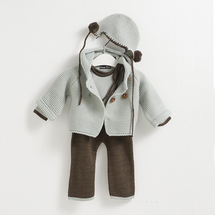 sainte-claire-moda-infantil-chaqueta-gorro