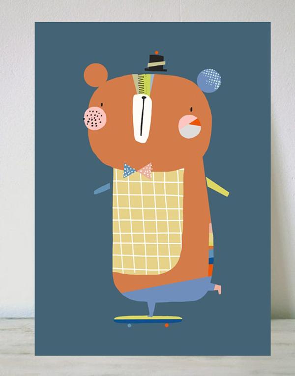 corby-lamina-infantil-oso-bear