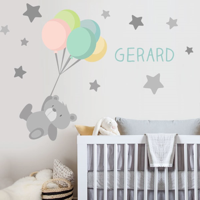 49804f893 Vinilos infantiles Starstick para el cuarto del bebé