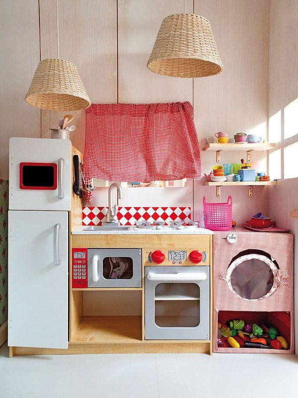cocina-juguete-roja-vintage