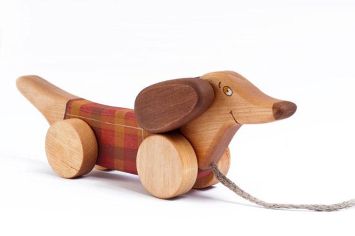 juguetes-de-madera-perro-salchicha