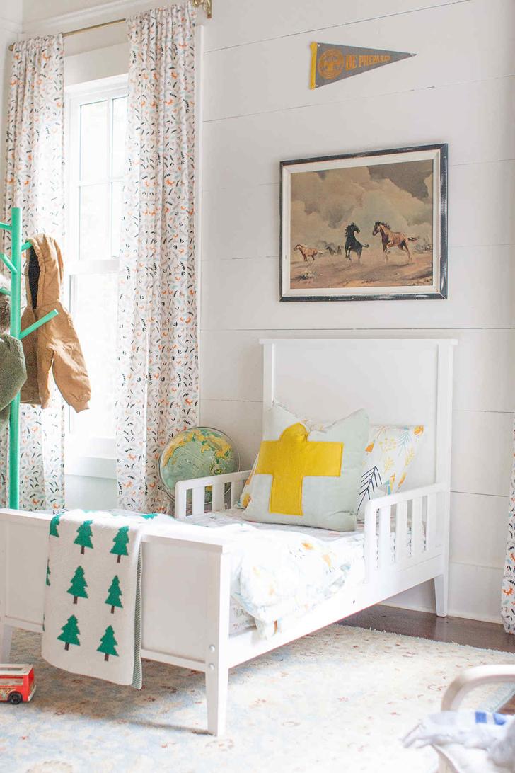 habitacion-infantil-estilo-rustico-cama