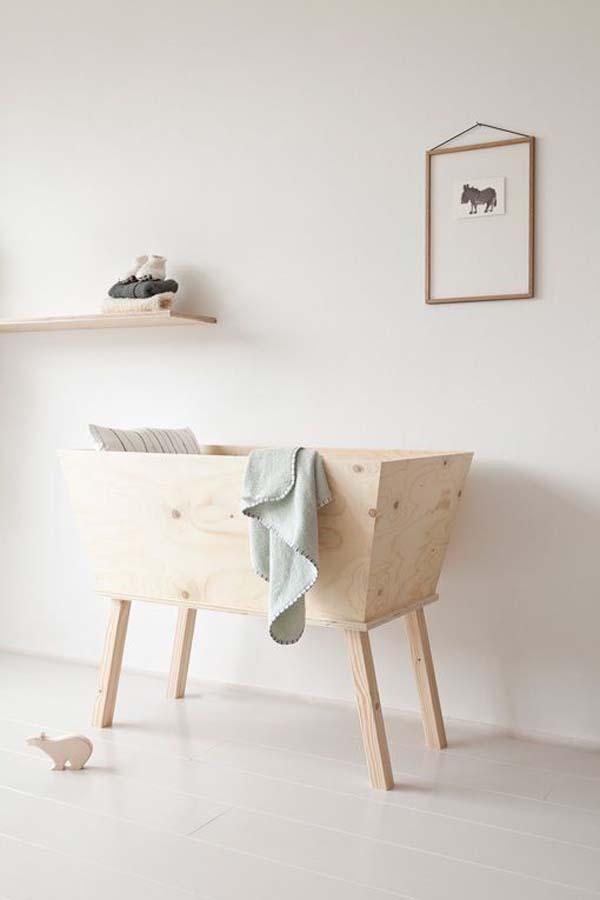 habitacion-bebe-blanco-madera-minimal