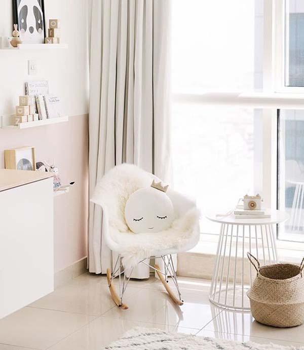 habitacion-bebe-blanco-madera-tonos-suaves