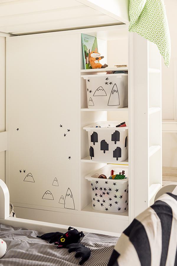 habitacion-infantil-compartida-ikea-almacenaje
