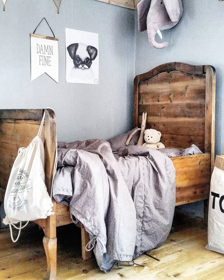 habitacion-infantil-instagram-cama-madera
