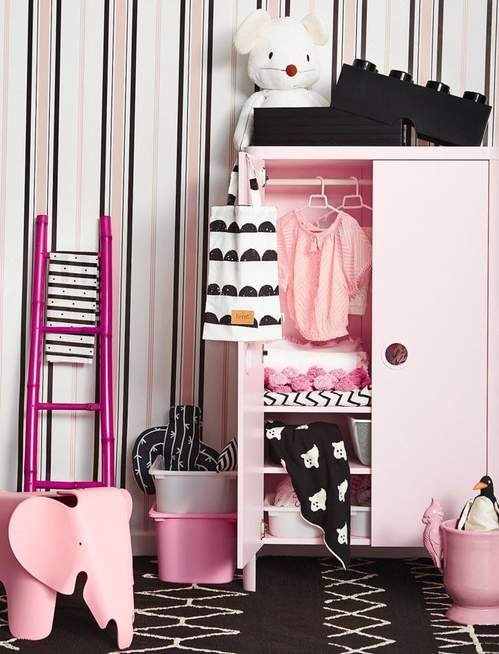 organizar-habitacion-infantil-armario-colorido