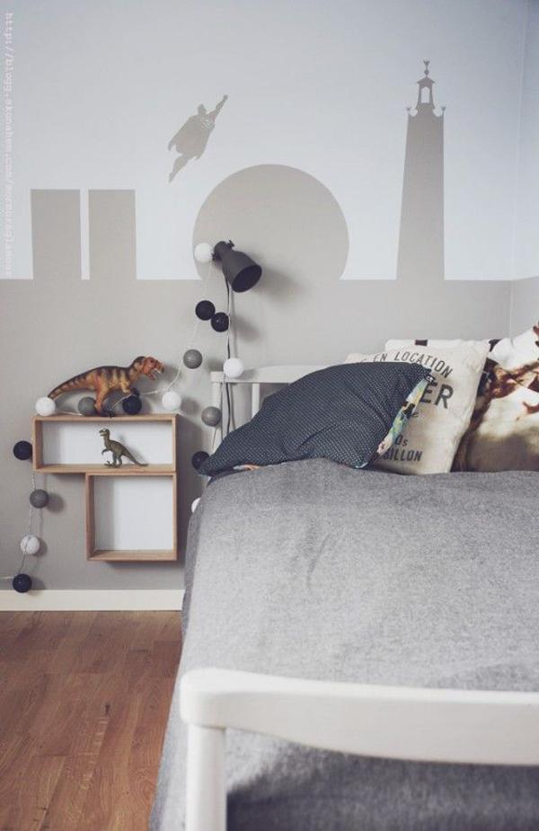 habitacion-niños-gris-melange