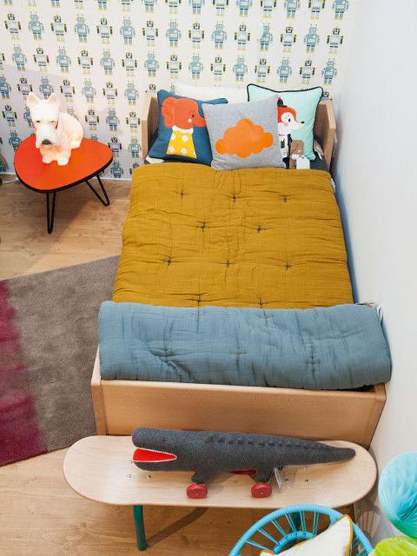 habitacion-infantil-textiles-colores-alegres