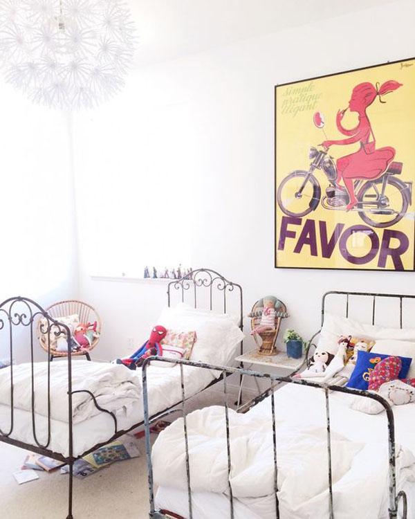 habitaciones-infantiles-con-laminas