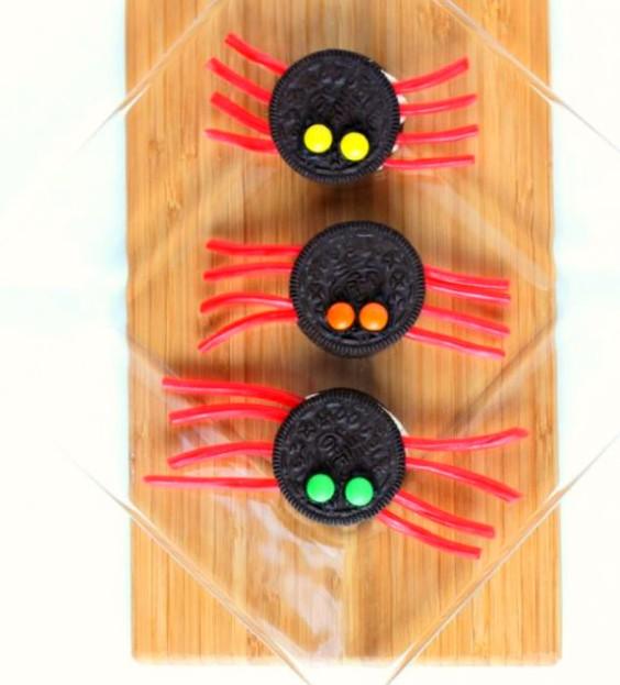 cookies-arana-galleta-oreo-halloween