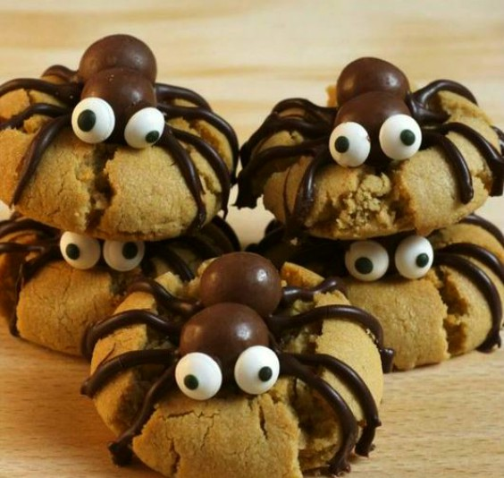 cookies-de-arana-chocolate-halloween