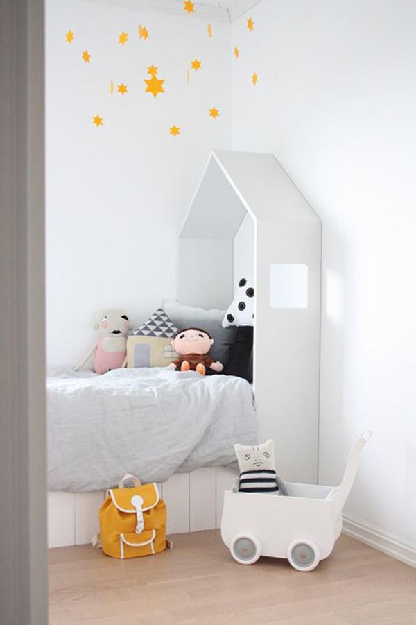 habitacion-infantil-nina-cama-casita