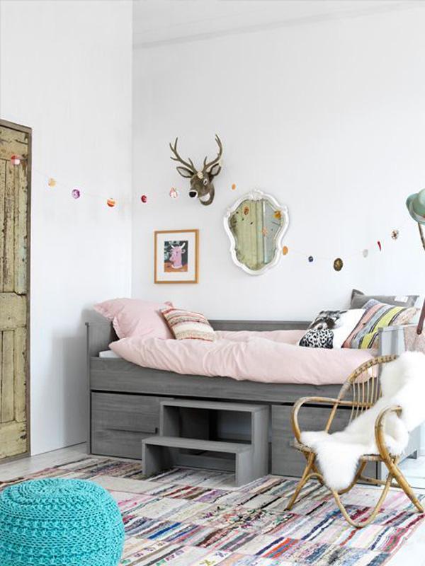 habitacion-infantil-nina-cama-original