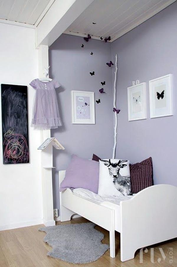 Habitaciones Infantiles Color Lila.Habitaciones De Ninas Que Enamoran Las 20 Ideas Mas Bonitas