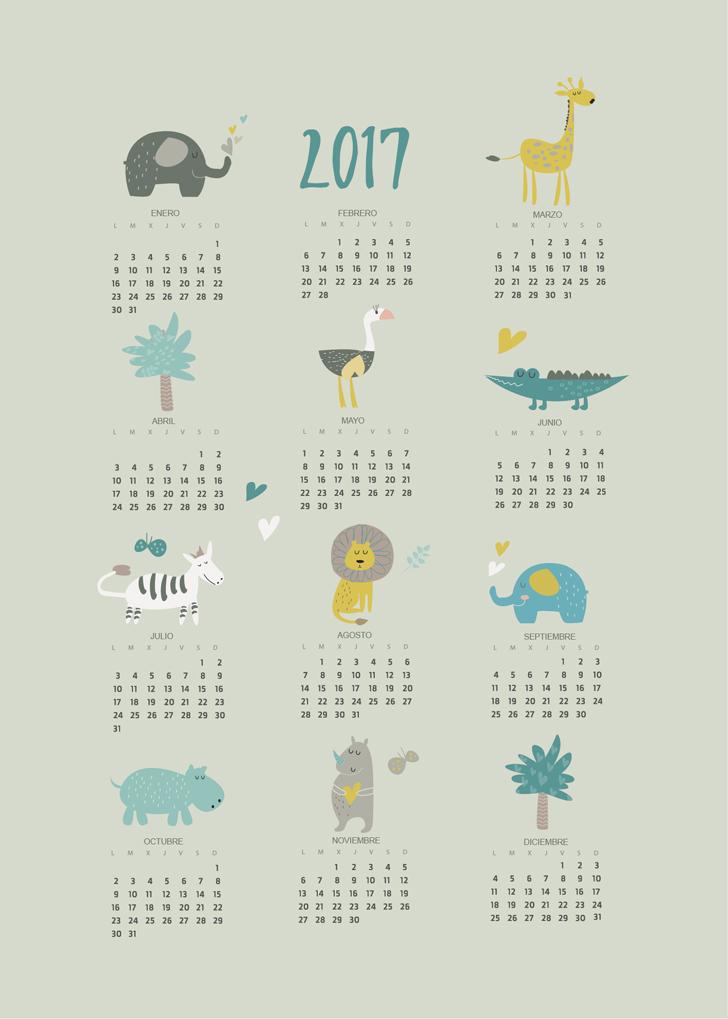 calendario-2017-menudos-cuadros-verde