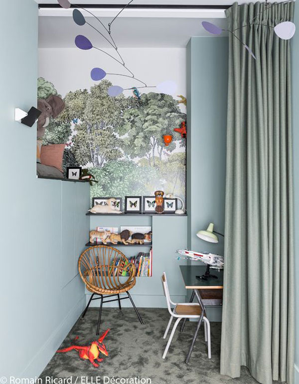 habitacion-infantil-inspirada-en-el-bosque