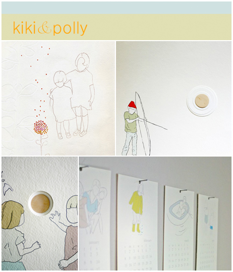 Descubriendo Etsy: Kiki and Polly