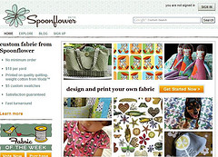 Spoonflower, diseña tu propia tela