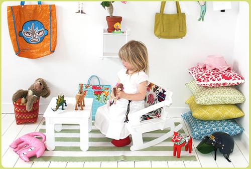 Muebles-Puzzle para niños