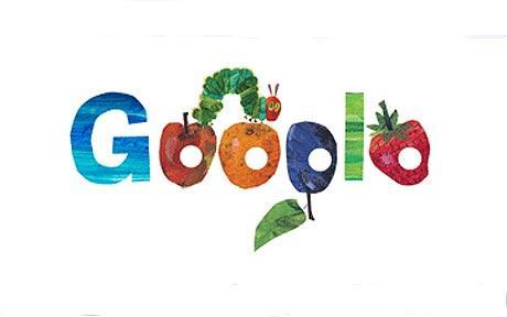 """""""La pequeña oruga glotona"""" en Google"""
