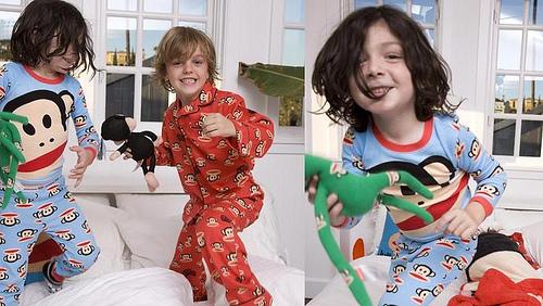 Moda para niños: Pijamas y bodies de Paul Frank