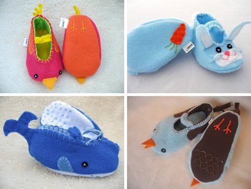 Descubriendo Etsy: Zapatillas de Piddies