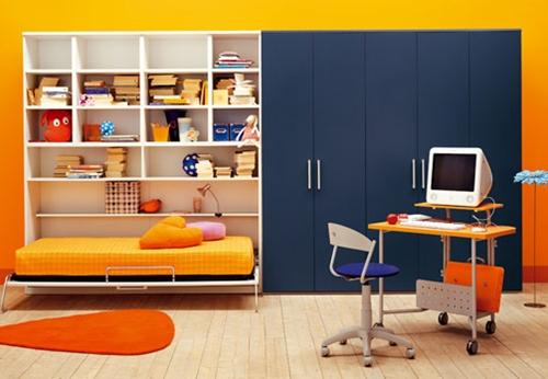 KIBUC , habitaciones juveniles con estilo mediterráneo