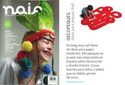 DecoPeques en Naif Magazine