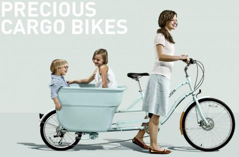 Madsen Bikes, nueva bicicleta con portaniños incorporado