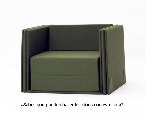Sof cama de dise o para ni os y mayores decopeques for Ofertas de sillon cama