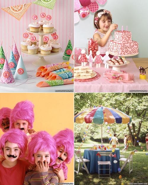 fiestas infantiles de martha stewart