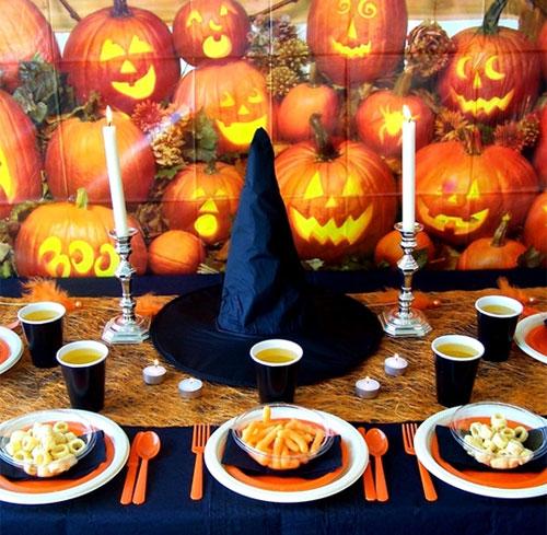 Crea un escenario halloween decopeques - Decoracion halloween infantil ...