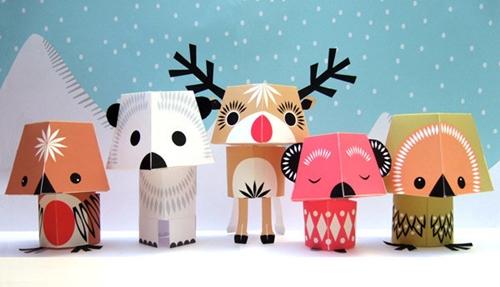 Adornos de navidad para hacer en casa decopeques - Manualidades de navidad para hacer en casa ...