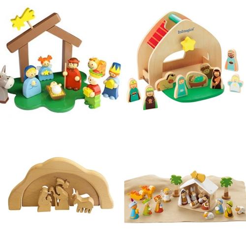 Belenes para casas con ni os decopeques - Figuras belen infantil ...