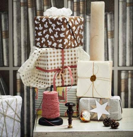 Empaquetar los regalos de navidad ideas para reciclar - Paquetes originales para regalos ...