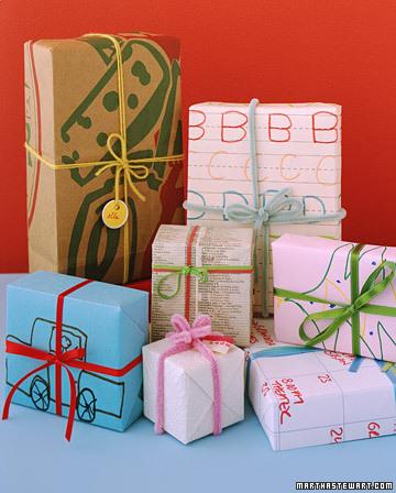 Decoracion paquetes regalos