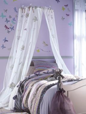 Un dosel en la decoraci n infantil decopeques - Dosel para cama nina ...