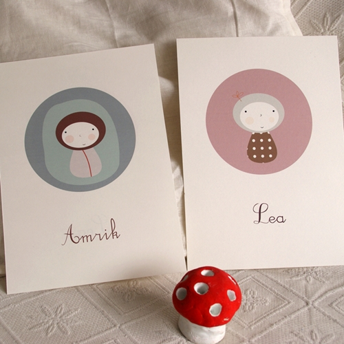 Cuadros infantiles con mucho encanto decopeques for Laminas para cuadros para imprimir