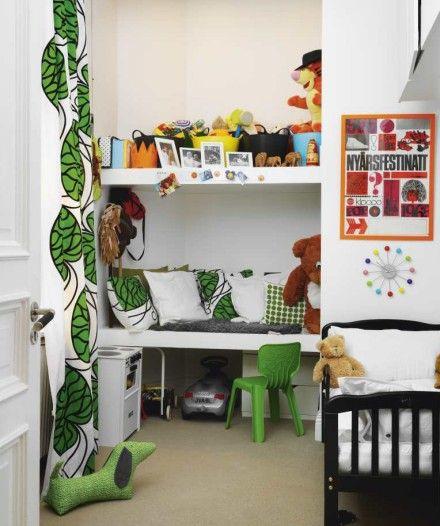 Aprovechando los espacios con estilo decopeques - Distribucion armario infantil ...