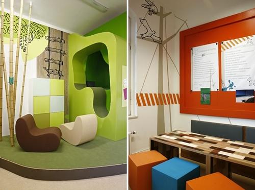 Espacios cool para ni os elise island project decopeques - Habitaciones infantiles pequenos espacios ...