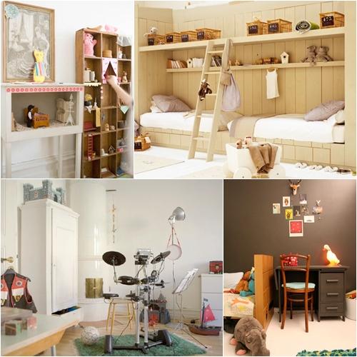 Habitaciones infantiles de jojo s room decopeques - Decoracion vintage reciclado ...