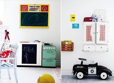 Habitaciones infantiles decoradas en blanco decopeques - Habitaciones infantiles decoradas ...