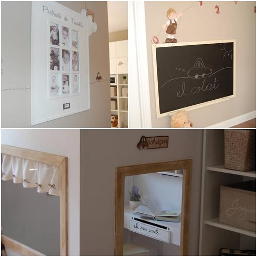 Personaliza los muebles de ikea con pintura y siluetas for Como tunear muebles de ikea