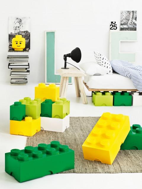 Cajas de almacenamiento gigantes de Lego