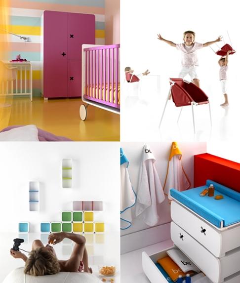 Nuevos muebles para niños \