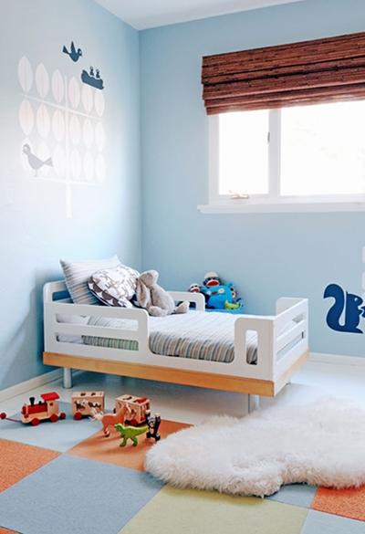 Peque a habitaci n infantil decopeques - Habitaciones bebe pequenas ...